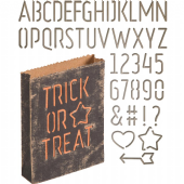 Sizzix Tim Holtz - Thinlits Die Set  44pk - Treat Bag - 663096